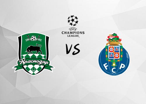 Krasnodar vs Porto  Resumen