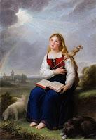 la storia di Santa Genoveffa, protettrice di Parigi