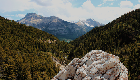 Cameron Lake Waterton Alberta