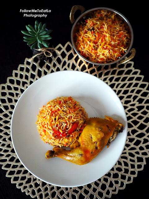 Chicken Mandi Rice RM 11.90 (RM 17 less 30%)