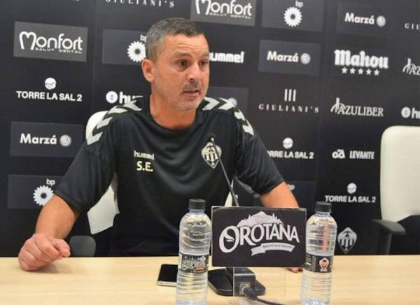 "Sergi Escobar - Castellón -: ""Vamos a poner un equipo competitivo ante el Málaga"""