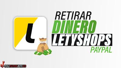 Retirar dinero de LetyShops