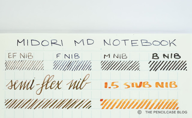 Paper Review: Midori MD notebooks, Japanese stationery.