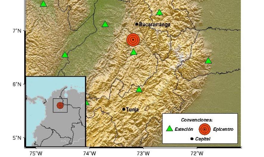 Terremoto Oggi in Colombia: Forte Sisma M5,4 sentito da Bogotá a Medellin, fino in Venezuela.