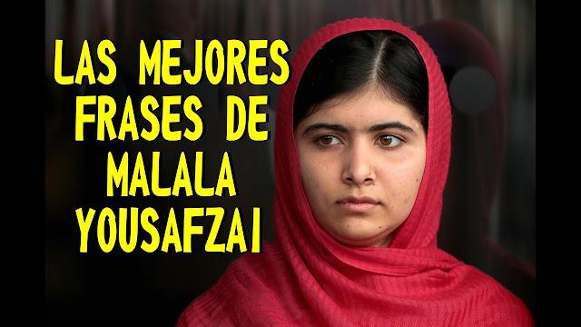 30 frases de Malala Yousafzai que inspiran el cambio
