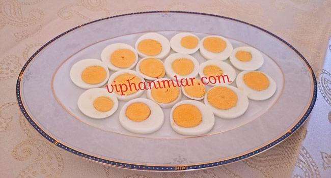 Doğranmış yumurta