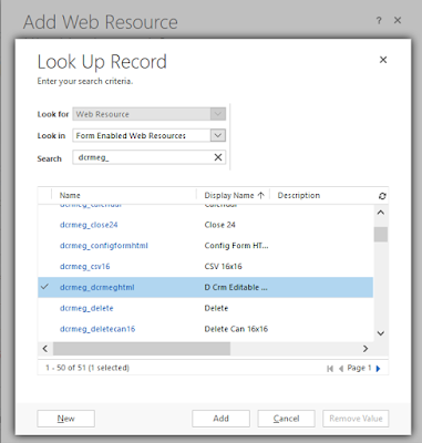 JoeGill com: How to add an Editable Grid to a Dynamics CRM Form