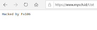 Situs Resmi MySCH.id di Hack