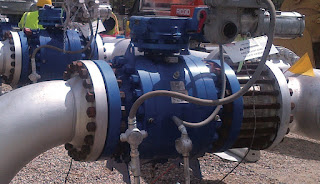 WOM Trunnion Mounted Ball Valves