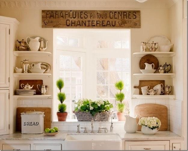 kitchen window decorating ideas
