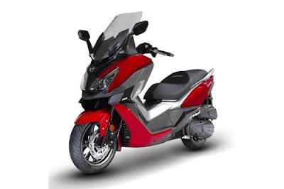 تركيب الدراجات النارية و سكوتر في عين ازال لعلامة SYM