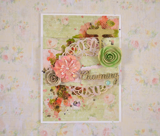 Studio 75 Card With Textured Background