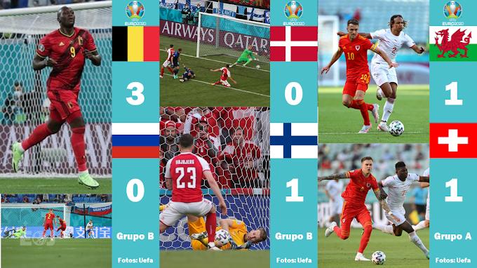 """Eurocopa: Bélgica vence """"fora de casa"""". Finlândia consegue resultado histórico!"""