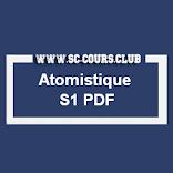 COURS ATOMISTIQUE SMPC S1 PDF