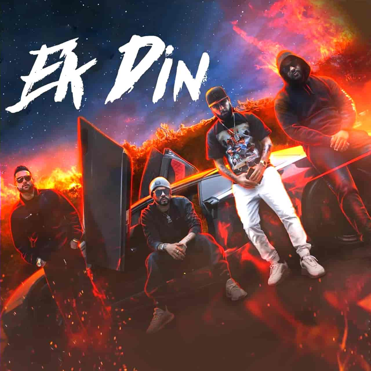 Ek Din Punjabi Rap Song Image Features Bohemia and Karan Aujla