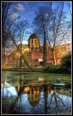 10 Best Places to Holiday in Belgium (100+ Photos) | Hanswijk church seen from Mechelen Belgium