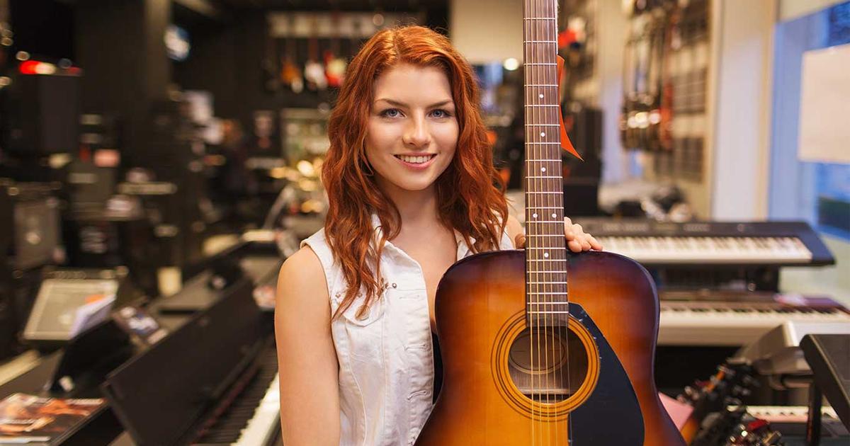 Đại lý bán đàn guitar acoustic yamaha