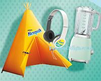 Logo Nesquik Granarolo concorso ''Risvegli speciali'': vinci frullatori, tende e cuffie