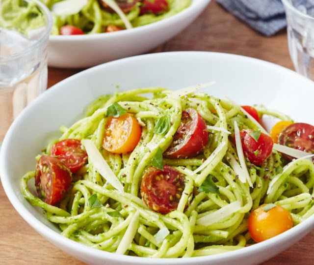 Avocado Pasta #vegan #dinner