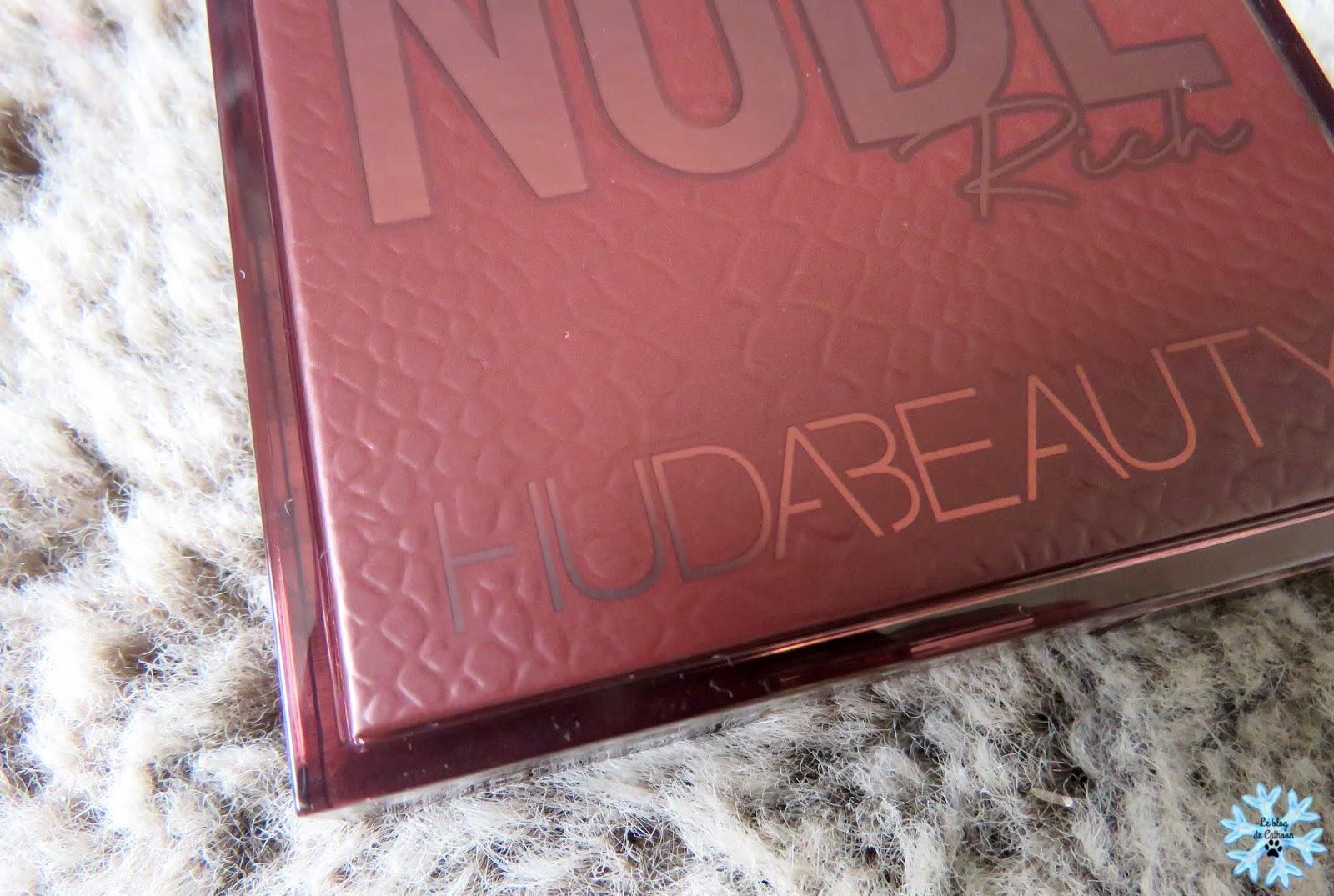 Nude Rich - Palette Fards à Paupières - Huda Beauty