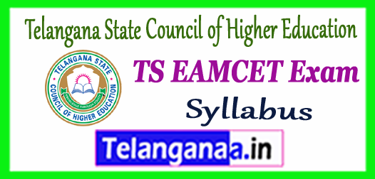 TS EAMCET Telangana State Council of Higher Education Syllabus 2018 Admit Card