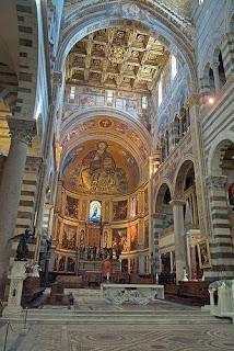El interior de la catedral de Florencia