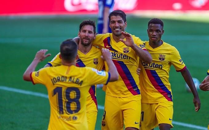 Highlight Alaves 0 - 5 Barcelona: Lionel Messi wins La Liga golden boot