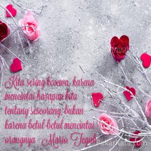Kata Mutiara Cinta Bergambar