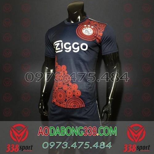 Áo Ajax Đen 2020 Training 5