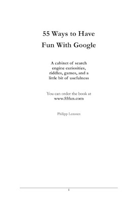 55 ways to have fun with GOOGLE  in PDF Download eBook