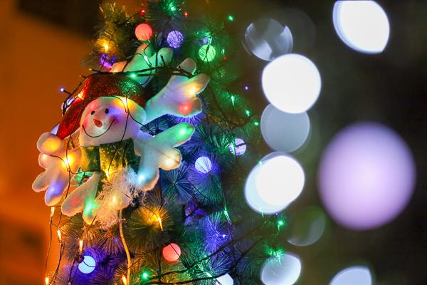 太平區公所聖誕節佈置