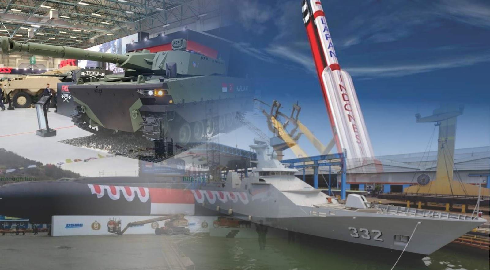 Pentingnya mewujudkan industi pertahanan Indonesia yang mandiri dan berdaulat