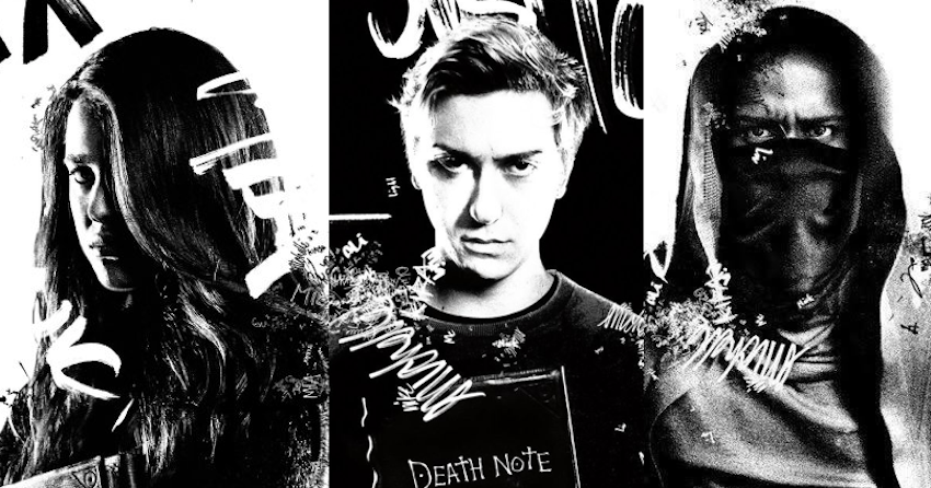 Resultado de imagem para netflix death note character posters
