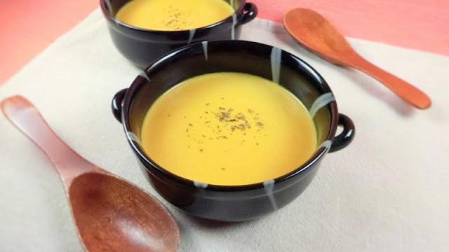 ミキサーも生クリームも使わない!濃厚かぼちゃポタージュスープ