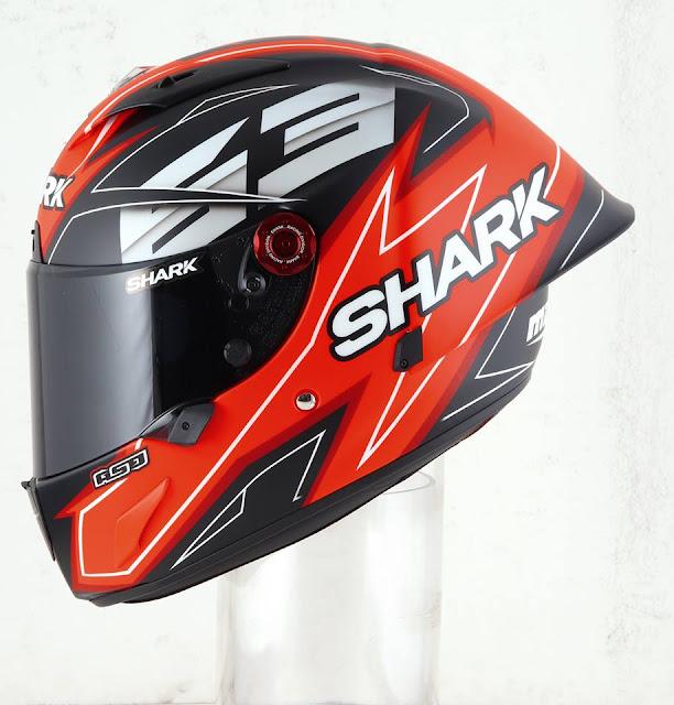 SHARK Race-R Pro GP M.Di Meglio dari samping