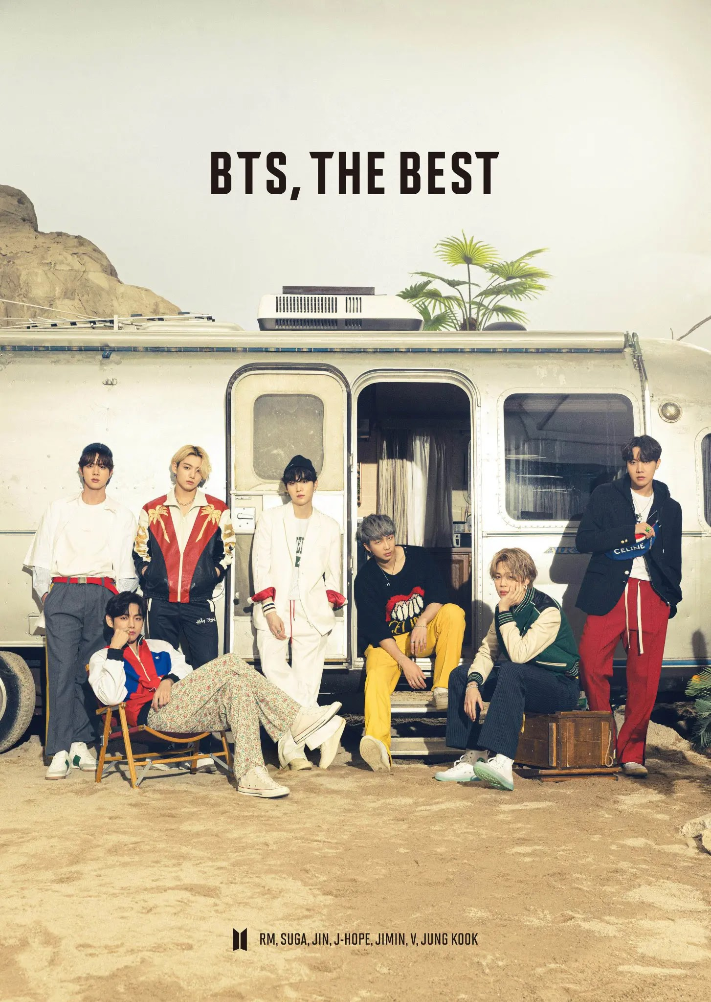BTS Leaks The Preview Photos of Japanese Album 'BTS, THE BEST'