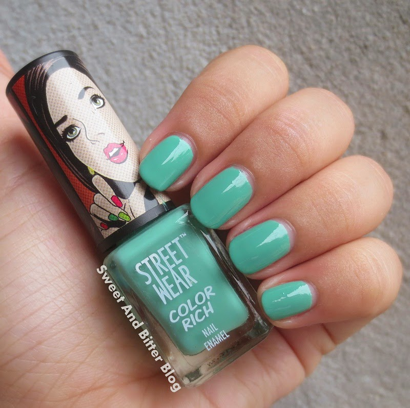 Streetwear 34 Dragonfly Green Color Rich Nail Polish Swatch