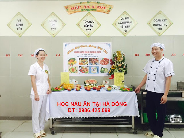 Học nấu ăn tại Hà Đông