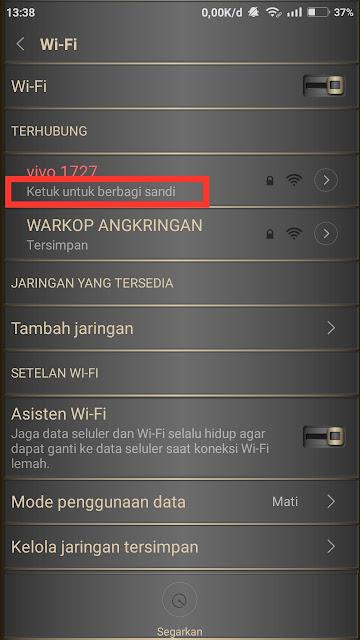 Berbagi sandi-WiFi-dengan-kode QR
