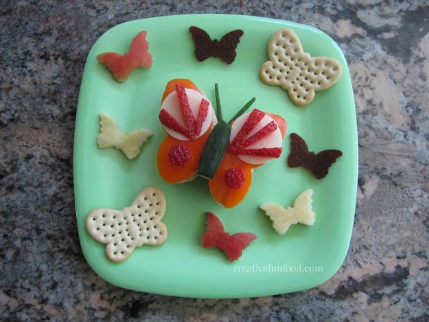 Creative Food Flutter Butterfly