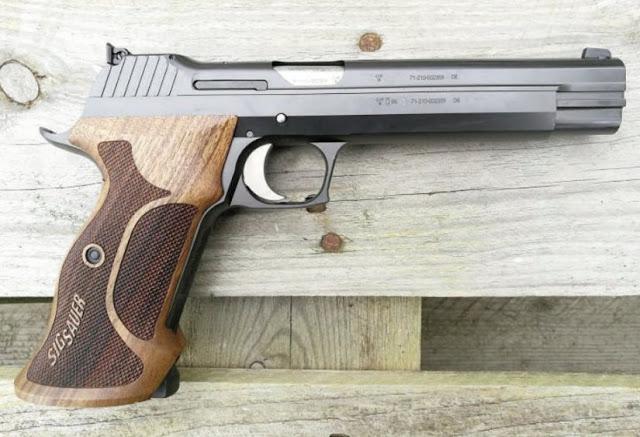 Pistola SIG SAUER P210 Super Target - Cal. 9 mm Luger