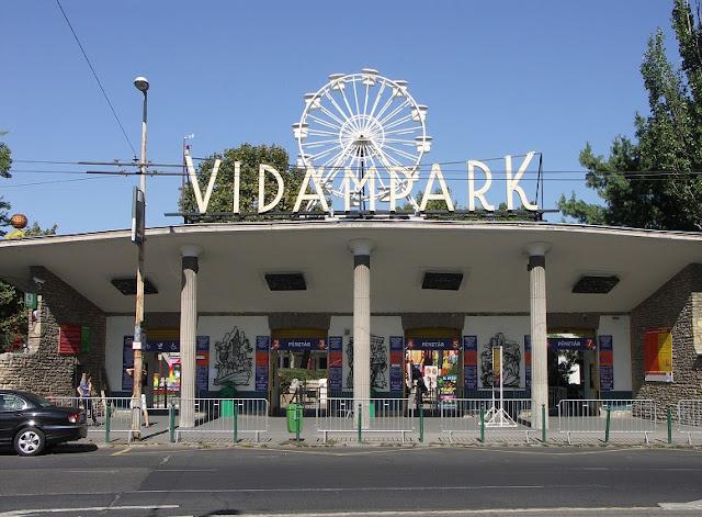Parque da cidade (Városliget), Budapeste