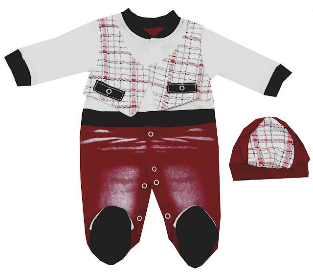 toptan bebe tulum modelleri kırmızı bordo renk