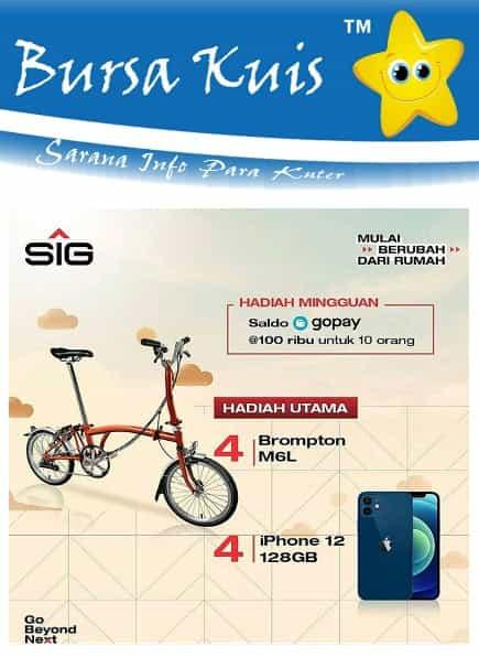 Kuis Online Terbaru Berhadiah Sepeda Brompton MGL