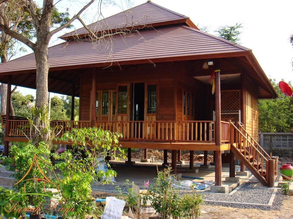 Rumah Panggung Kayu Idaman Bongkar Pasang