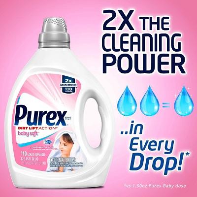Purex Dirt Lift Action Baby Soft Detergent
