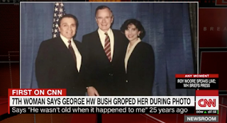 First on CNN: New George H.W. Bush accuser says he groped her during 1992 re-election campaign