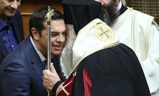 Η εκκλησία του Ιερώνυμου συνιστώσα του ΣΥΡΙΖΑ...