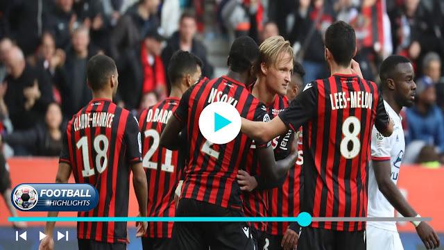 Nice vs Olympique Lyonnais – Highlights