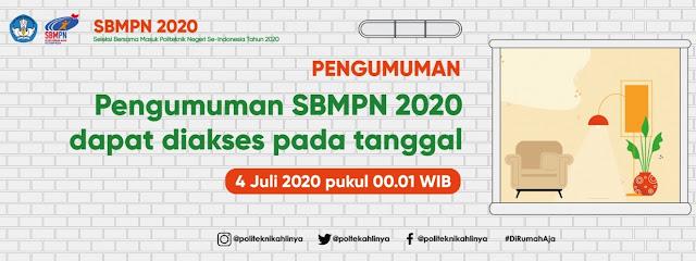 Cek Pengumuman SBMPN 2020 Politeknik, sbmpn.politeknik.or.id